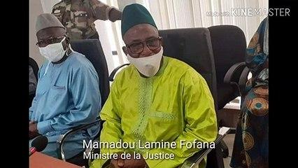"""Le ministre de la Justice valide la nouvelle constitution qualifiée de """"faux document"""" par le Barreau de Guinée"""