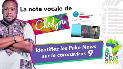 La note vocale de Chedjou #9 : Identifiez les Fake News sur le coronavirus