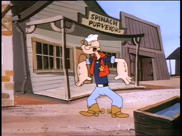 All New Popeye - Popeye Out West AND MORE - Episode # 08
