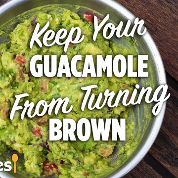 How to Keep Guacamole From Turning Brown