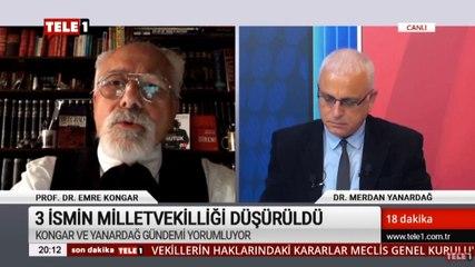 Prof. Dr. Emre Kongar: Atanmış birinin yazısıyla 3 milletvekilinin dokunulmazlıklarının kaldırılması kara bir leke!