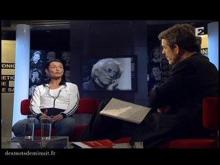 Régine Chopinot et Tzvetan Todorov.  Maud Le Grevellec, Christian Labrande. Des mots de minuit  #231