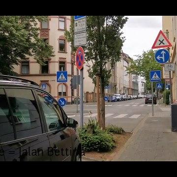 Raya COVID-19 Pertama - Jalan-jalan raya di Jerman