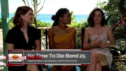 No Time To Die Naomie Harris, Lea Seydoux, and Ana de Armas