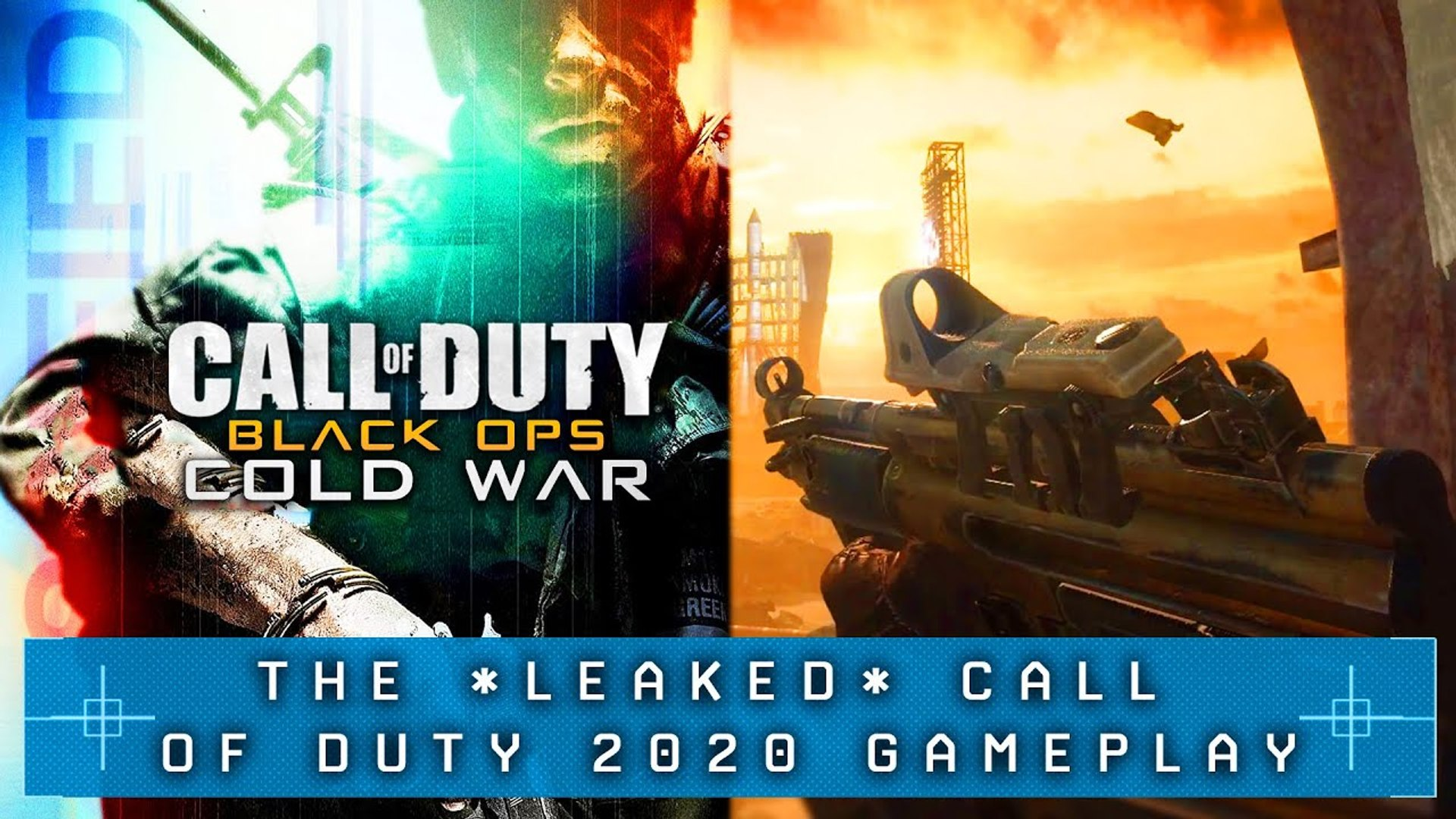 Black Ops Cold War Is Set In The Future First Weapon Revealed Cod 2020 Black Ops Cold War Leaked Video Dailymotion