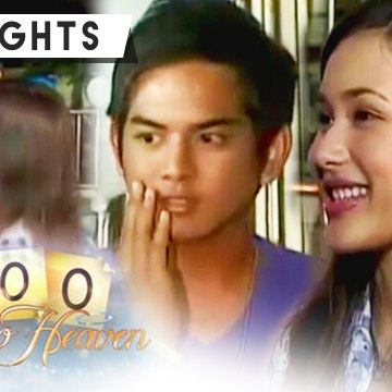 Yanie kisses Jopet on the cheek | 100 Days To Heaven