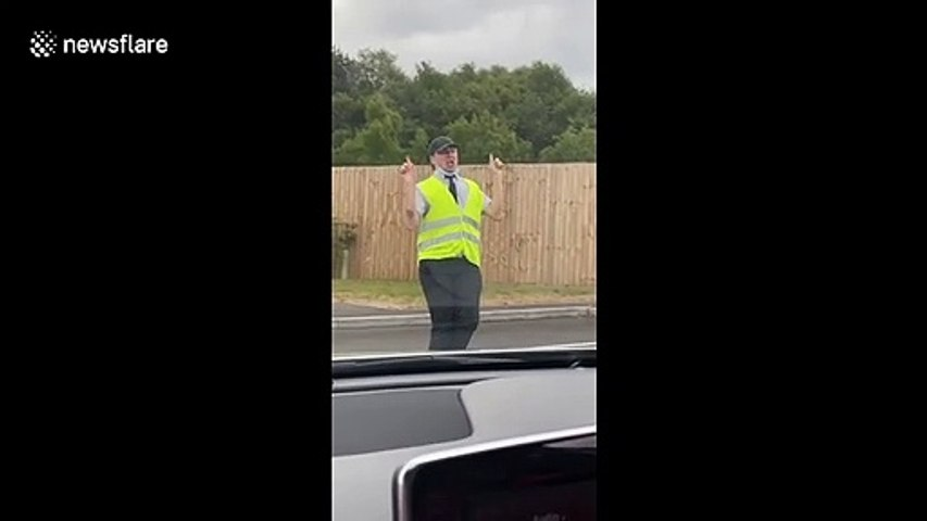 McDonald's drive-thru worker goes viral after entertaining traffic queues with his dance moves