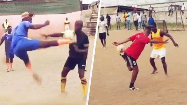 Top 15 des gestes techniques les plus fous en Afrique   Oh My Goal
