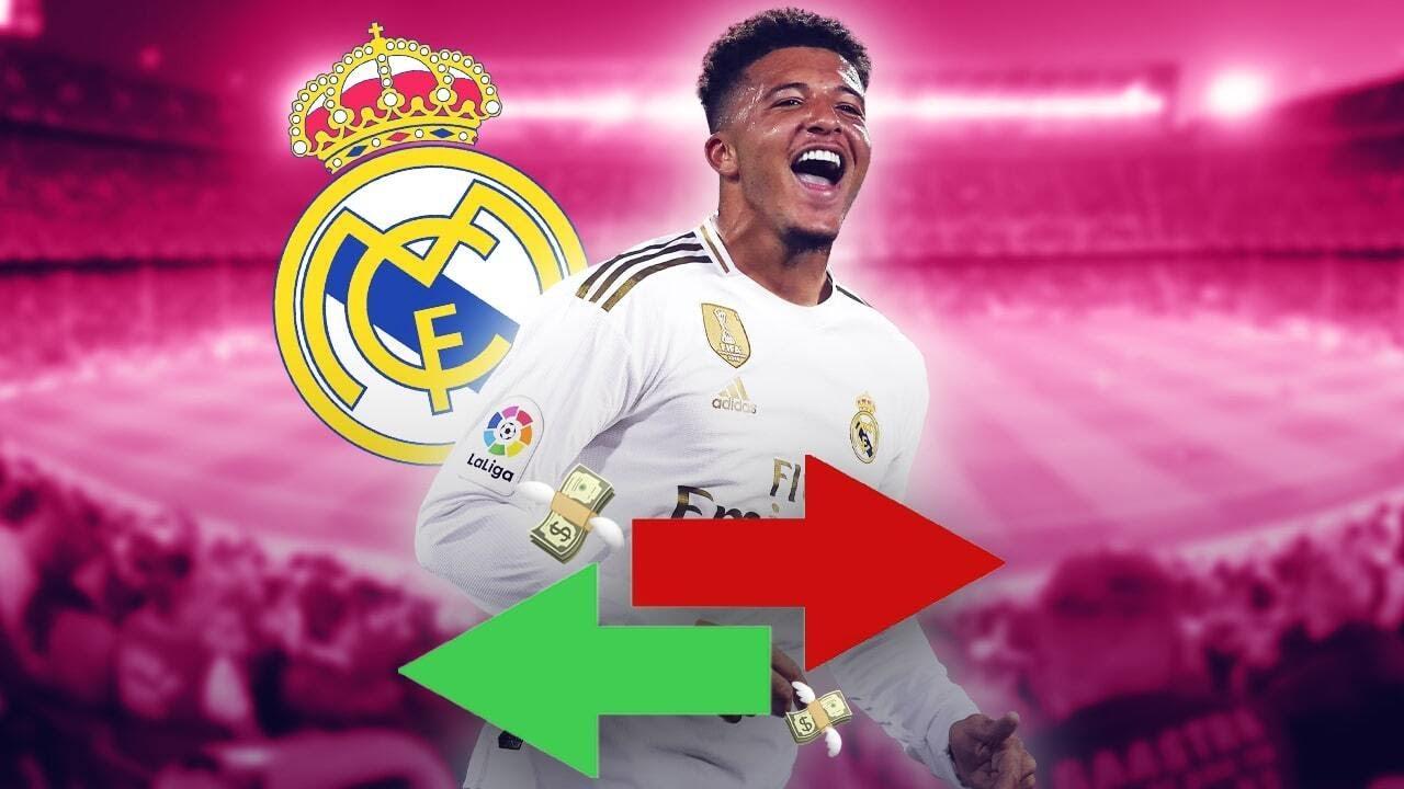 Le Real Madrid veut piquer Jadon Sancho à Manchester United ! | Oh My Goal