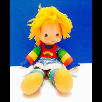 Rainbow Brite Vintage Doll-