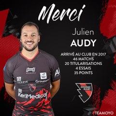 Merci Julien Audy