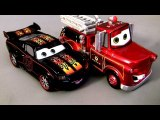 Cars 2 Hot Rod Lightning McQueen and Rescue Mater Chase Diecast 2013 Disney Cars