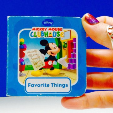 Mickey Mouse Clubhouse Favorite Things Book-