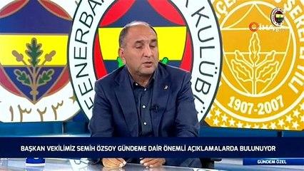 """Semih Özsoy: """"Neye hizmet ettiği belli olmayan bir açıklama oldu"""""""