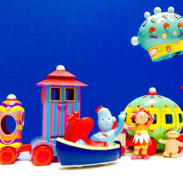 Iggle Piggle Sleeps The Pinky Ponky In The Night Garden