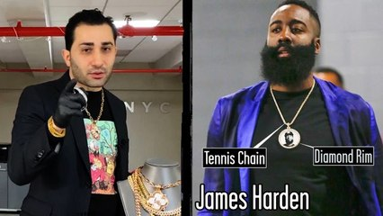 Jewelry Expert Critiques Athletes' Chains & Pendants