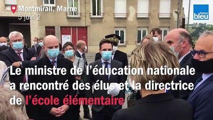 Visite de Jean-Michel Banquer à Montmirail(51)