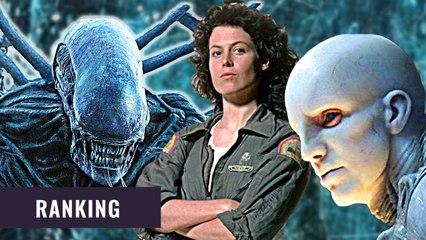 Alle Alien Filme im Ranking