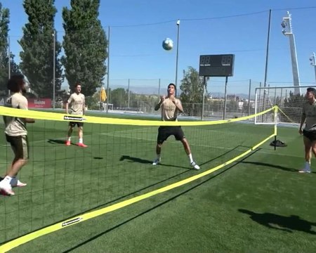 Real - Marcelo se surpasse au foot-volley