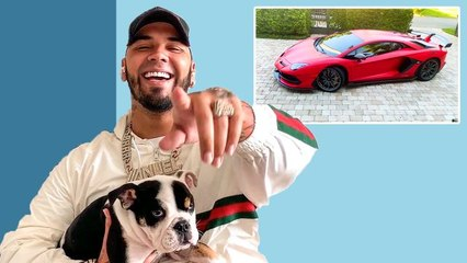 10 Things Anuel AA Can't Live Without