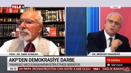 Dr. Merdan Yanardağ, RTÜK'ün Tele1'e üst sınırdan kestiği cezayı yorumladı: Anayasa'ya göre Menderes'i eleştirmek suç olamaz!