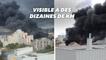 Un incendie visible depuis Paris a pris dans un entrepôt d'Aubervilliers