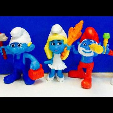 The Smurfs Movie Figures McDonalds Happy Meal