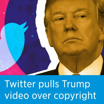 Twitter pulls down Trump campaign's George Floyd videos over copyright issues