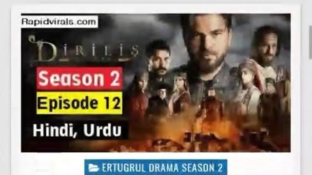 Ertugrul season 2 hindi dubbed || Ertugrul season 2 in Urdu/Hindi All episode