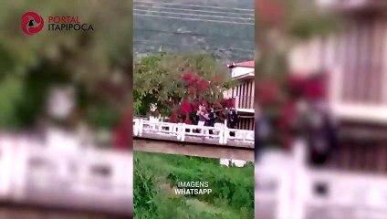 HOMEM SURTA E AMEAÇA SE MATAR COM ARMA DE FOGO EM ITAPIPOCA
