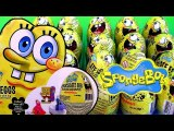 Huge 36 Spongebob Toy Surprise Easter Eggs Unwrapping Epic Review by Funtoys