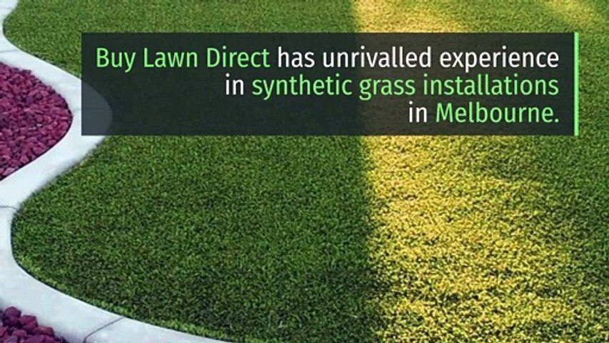 Synthetic Grass Installation Melbourne | +61 1300 013 342 | buylawndirect.com.au