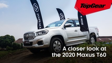 A closer look at the 2020 Maxus T60