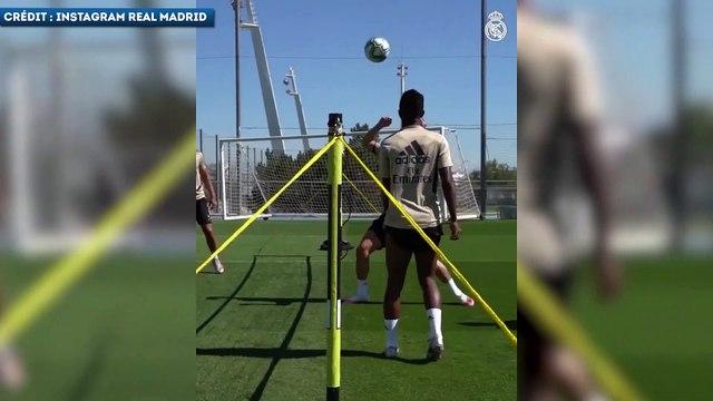 Le tennis-ballon enflammé des joueurs du Real Madrid