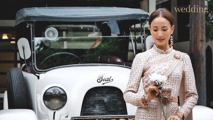 เบื้องหลังแฟชั่นชุดแต่งงานไทย แต้ว ณฐพร ในนิตยสารแพรวเวดดิ้ง ฉบับเดือนตุลาคม 2562