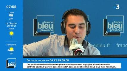 La matinale de France Bleu Provence du 08/06/2020