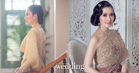 เบื้องหลังการถ่ายแฟชั่นชุดไทยสวยๆ นิตยสารแพรว wedding @ Villa de Bua