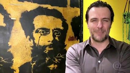 """VÍDEO: Fantástico faz homenagem ao sousense coordenador do """"Natal sem Fome"""" que morreu de coronavírus"""