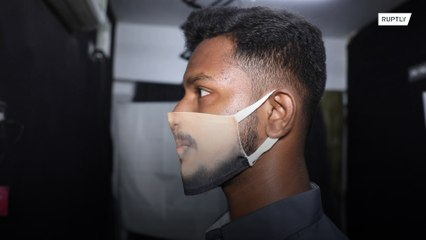 Фотостудия в городе Ченнай напечатает ваше лицо на защитной маске