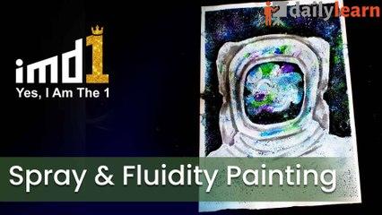 Spray & Fluidity Painting