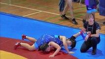果敢に戦う女子レスリングの勇士に感動する 【スポーツ】