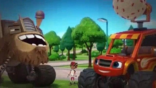 Blaze And The Monster Machines S05E10 Ice Cream Monster Machine