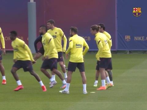 Barça - Messi de retour à l'entraînement collectif