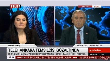 CHP Genel Başkan Yardımcısı Yıldırım Kaya: Kozmik odaya terör örgütünü sokanlar casusluk yapmıyor da, yurtsever gazeteciler mi yapıyor?
