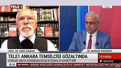 """Prof. Dr. Emre Kongar: """"FETÖ yöntemleri kullanılıyor. Suçlamalar belli değil, yandaş gazetelere bilgi sızdırılıyor"""""""