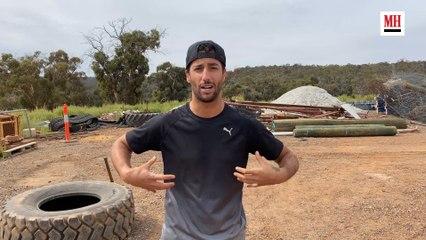 Daniel Ricciardo | Train Like A Celeb