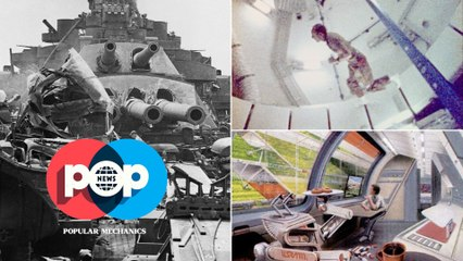 POP News:  A Sunken Unsinkable Battleship, Magnetic Blobs of Molten Iron, and a Fleet of Tiny Flyers and Our Return to the Moon