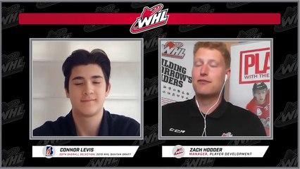 WHL Interview: Connor Levis, Kamloops Blazers