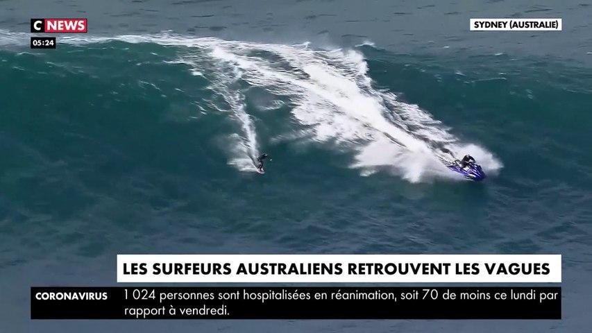 Les surfeurs australiens retrouvent les vagues