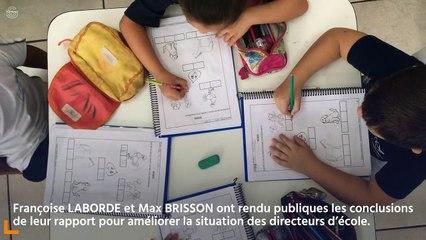 [3 MINUTES POUR COMPRENDRE] Commission de la culture : présentation  du rapport d'information  pour améliorer la situation  des directeurs d'école